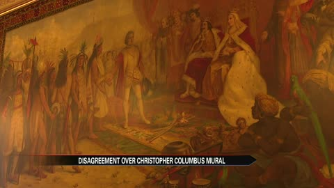 Notre Dame will cover Christopher Columbus murals